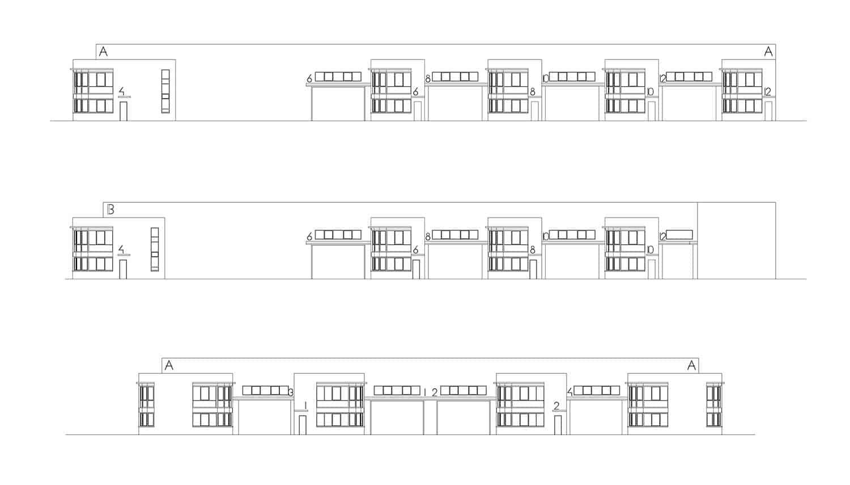Alzados Bloque A, Crisalida Arquitectura