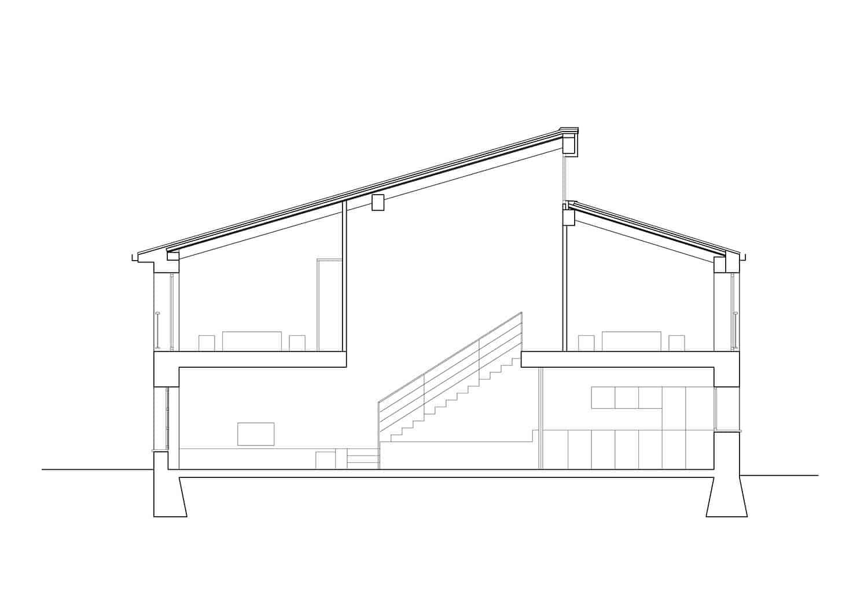 Sección, Crisalida Arquitectura