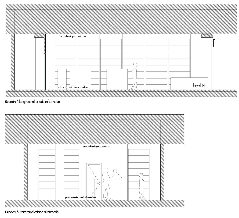 Secciones 1, Crisalida Arquitectura